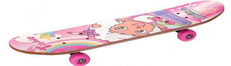 女孩子滑板初学者选长板还是双翘呢?