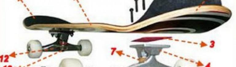 滑板的构造【图】